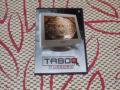 WWE TABOO TUESDAY DVD, OCTOBER 2004 PPV, RIC FLAIR VS. RANDY ORTON STEEL CAGE for sale  Hamilton