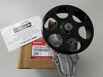 NEW GENUINE HONDA ACURA WATER PUMP W/ GASKET 19200-RAA-A01 Acura Water Pump Gasket