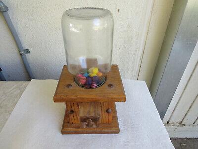 AMISH GUMBALL MACHINE or CANDY DISPENSER MINI (Mini Gumball Machine)