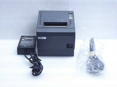 Epson Tm-t88iiip Pos Thermal Receipt Printer M129c With Power Supply