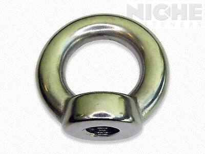 - Lifting Eye Nut M24-3 DIN582 SS304 (2 Pieces)