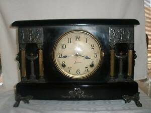 AMERICAN SESSIONS MANTEL CLOCK 1910 IN WORKING ORDER Berwick Casey Area Preview