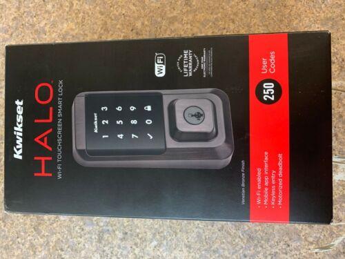 Kwikset 939WIFITSCR-S Halo SmartKey Electronic Touchscreen - New
