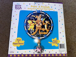 KNG America Disney Winnie The Pooh Animated Musical Talking Wall Clock