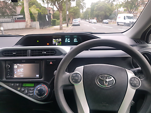 TOYOTA PRIUS C 2014 GLACIER WHITE Condell Park Bankstown Area Preview