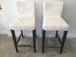 2 bar stools Scarborough Stirling Area Preview