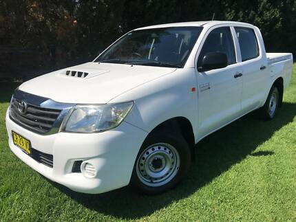 2012 Toyota Hilux SR DUAL CAB TURBO DIESEL 2WD Ute Richmond Hawkesbury Area Preview