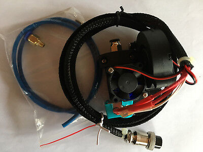 Replacement 0.4mm Nozzle E3D Hot End Extruder With Cooling Fan For Tevo Tornado