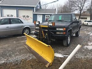 1990 CHEV SILVERADO Z71 WITH PLOW!
