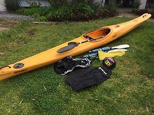 Finn multisport (lightweight) kayak and accessories Hillarys Joondalup Area Preview