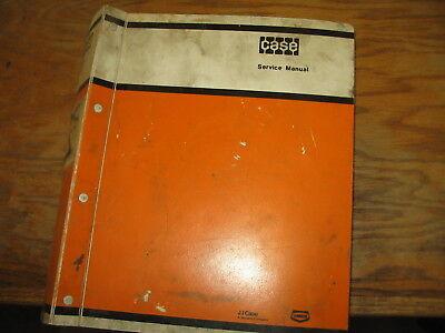 Case 580ck Loader-backhoe And Forklift Repair Service Manual