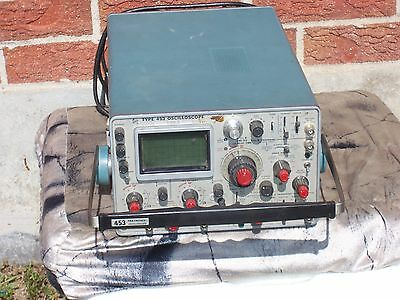 Tektronix Type 453 2-channels 50 Mhz Oscilloscope