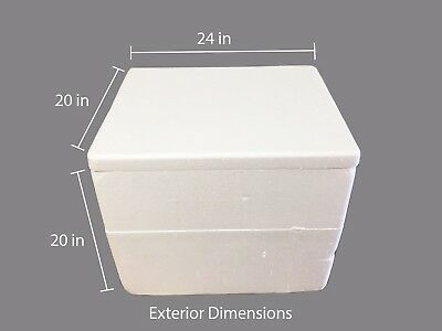 Extra Large Styrofoam Coolers 20 X 16 X 16 Interior Shipping Catering