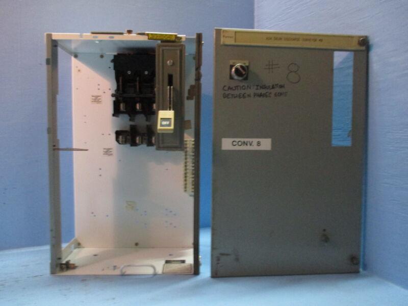 "Siemens Tiastar Furnas 89 100A Fusible Feeder 24"" MCC MCCB Bucket 100 Amp Fused"