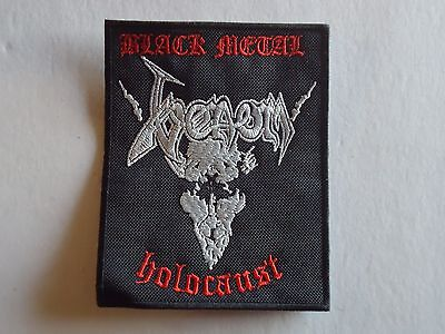 Venom Black Metal Holocaust Embroidered Patch