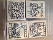 Stampin Up Wonderful Woodcuts