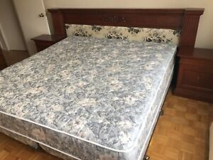 Simmons Beautyrest King size bed