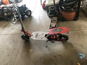 Gas power scooter
