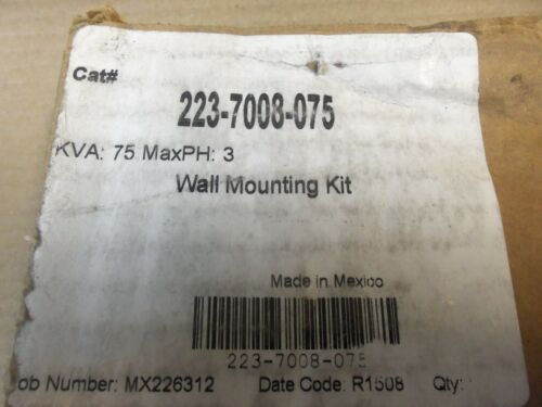 NEW Jefferson 75kva Transformer Wall Mount Bracket Kit 223-7008-075