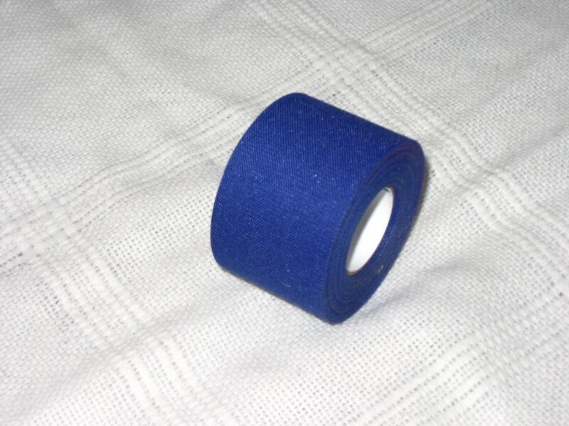 "BLUE MEDICAL TAPE   50 rolls   1.5""x15yds.     * COSMETIC SECONDS *"
