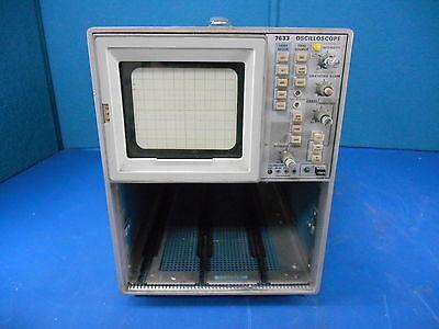 Tektronix 7633 100 Mhz Analog Oscilloscope No Plug In Modules