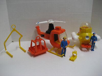 Fisher Price Adventure People 323 Aero Marine Search Team With Box