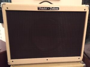 Fender cab 1x12 blonde with Celestion Vintage 30 16 Ohms speaker
