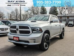 2013 Ram 1500 NAV, BACK UP CAM, HEATED SEATS, TRAILER TOW, V8