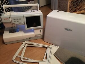 Sewing embroidery quiltingJanome 11000.3000$ or OBO
