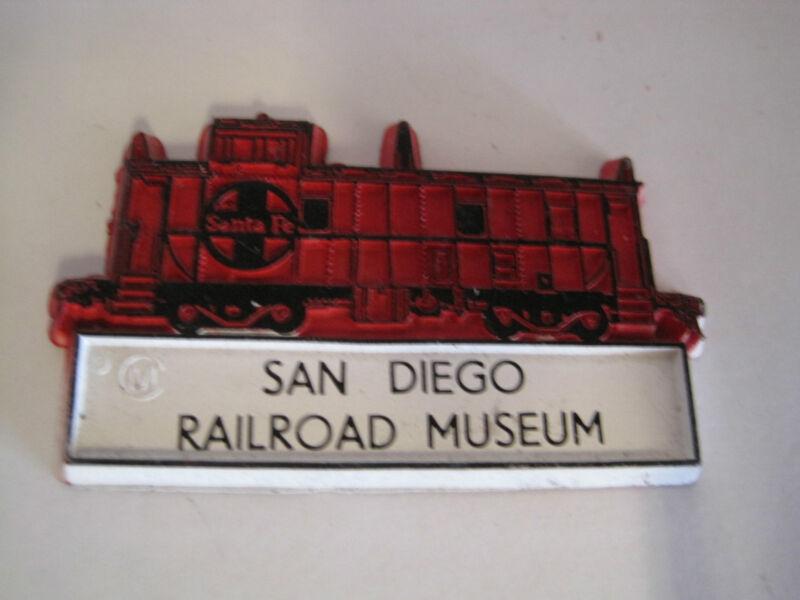 Railroad Magnet San Diego Railroad Museum