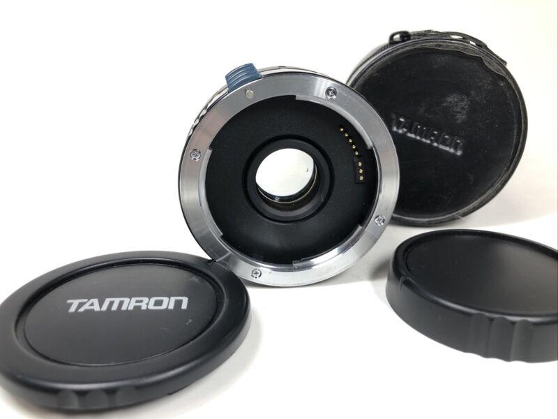 TAMRON-F AF Tele-Converter 2X C-AF BBAR MC7 for Canon EF With Case from JAPAN