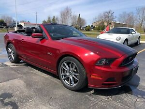 2014 Ford Mustang GT Roush Stripes and Exhaust NAV