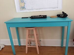Antique Turquoise Table