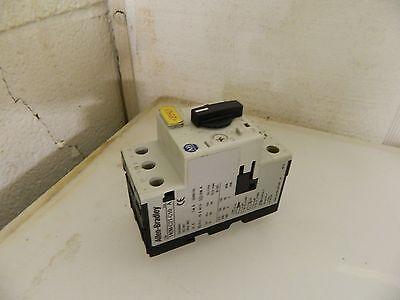 Allen Bradley Manual Motor Starter, 140M-C2T-C10, Used, Warranty