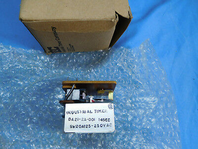 ITC Industrial Timer Co. DA-21 Rear mounting Reset Timers 14 SEC DA21-2A-001
