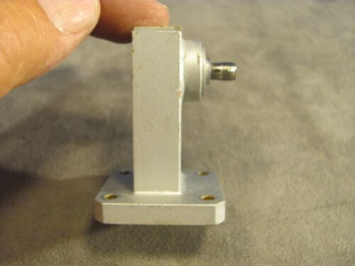 CMT Adapter/Transition WR75 to SMA Cover Smooth Flange <367>