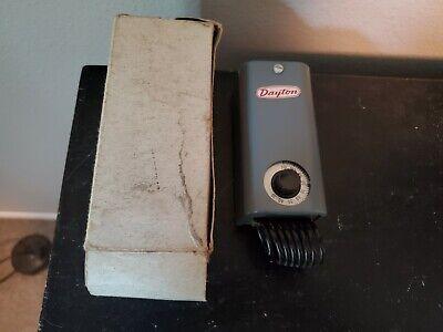 Dayton 2e206 Line Voltage Thermostat 30-110f
