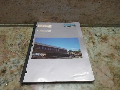 General Numeric Dc Servo Motor Description Manual Gn53262e02 Burke Cnc3md Mill