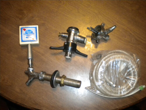 USED BEER   TAP SYSTEM   HOSE,COUPLER AND MORE