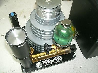 Ametek Hydra-lite Dead Weight Hydraulic Pressure Tester Hl-36 Used