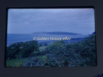 PART NORTH WALES COAST 1962 35mm SLIDE PHOTO PICTURE VINTAGE PHOTOGRAPH