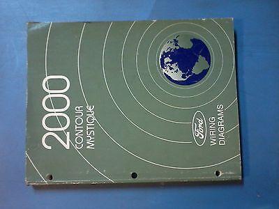2000 Ford Contour & Mystique Wiring Diagram manual