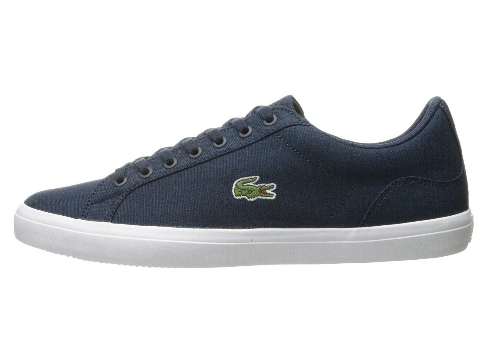 LACOSTE Lerond BL 2 Men's Croc Logo Casual Slip On Loafer shoes Sneakers Navy