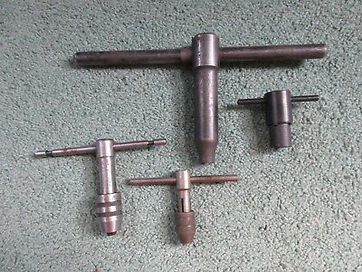 Lot Of Tap Wrench Tools Gunsmith Machinist