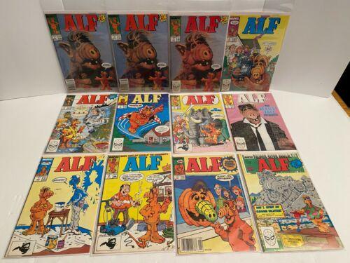 Alf Lot Comic Books Comicbooks 1988--1989 Marvel Comics