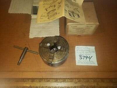 Atlas Craftsman 6lathe 44jaw Chuck1-10tpi Pnm6-844b New Orig Box