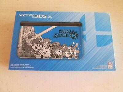 BRAND NEW UNOPENED Super Smash Bros Limited Edition Blue Nintendo 3DS XL Console segunda mano  Embacar hacia Mexico