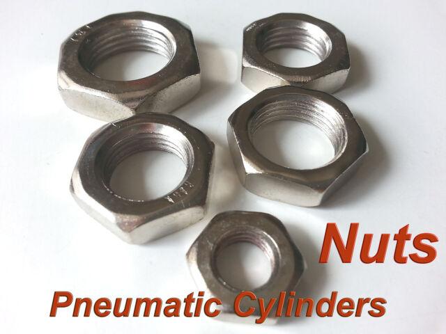 2 pcs Pneumatic Cylinders Screw Nuts M20x1.5mm Nut M20 * 1.5 mm