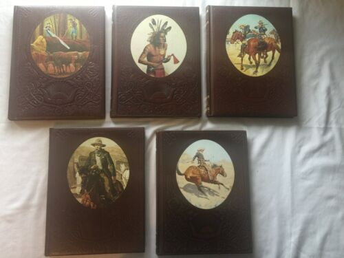 The Old West Lot of 5 Time Life Books Cowboys Gunfighters Soldies Indians Logger