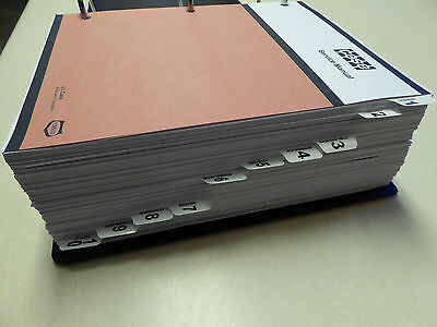 Case 24702670 Tractor Service Manual Repair Shop Book New With Binder